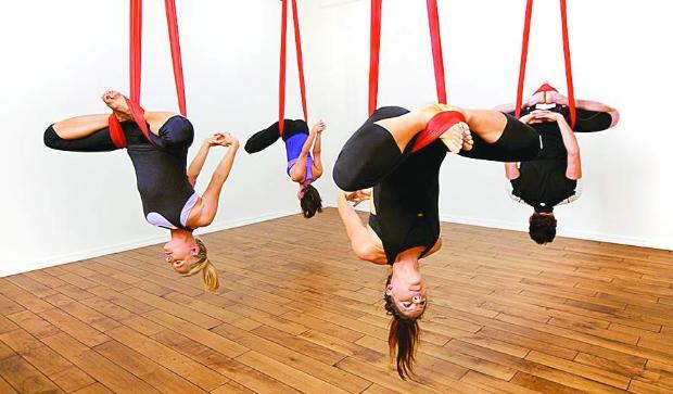 Въздушна гимнастика Image